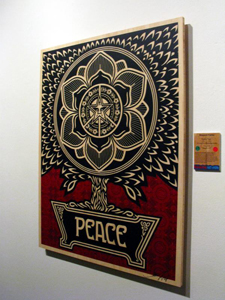 Shepard Fairey Wood Print