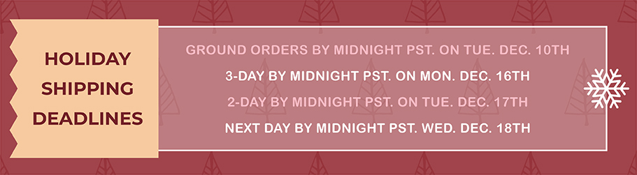 prints on wood holiday shipping deadlines