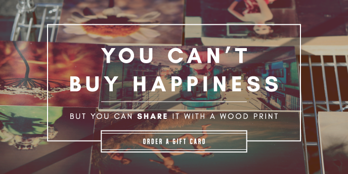 Create your own wood print
