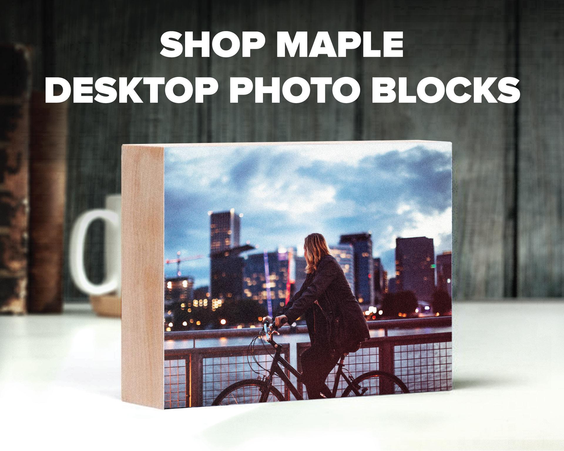 Prints on Wood Maple Block