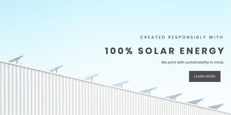Solar powered prints on wood